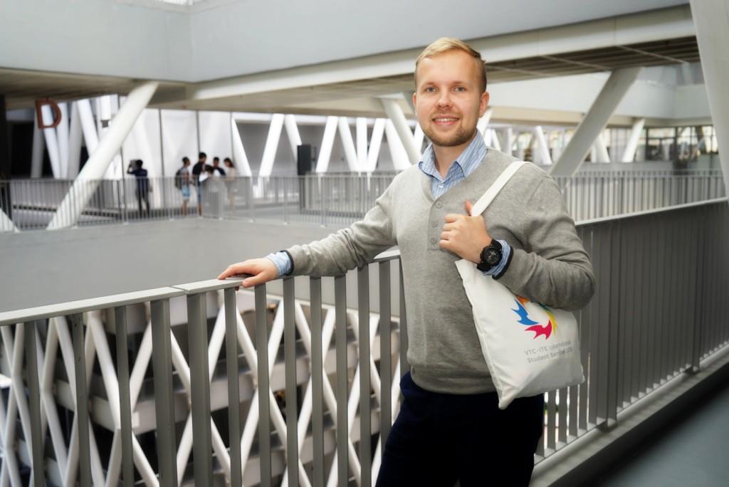 Ukraine (Exchange Student of Shenzhen Polytechnic): Andrey Konkov